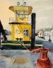 Yellow Boat in a Marina