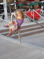 CHILDREN INTERACTION WITH CITY PUBLIC SPACE