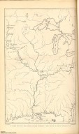 [A Chart Shewing the Moves of the Mandans and the Place of Their Extinction, Letters and Notes on the Manners, Customs, and Condition of the North American Indians.]