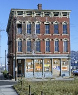 Italianate Style Building, Northeast corner of Dalton and Liberty