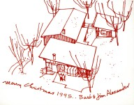 Jim Alexander Christmas Card 1995