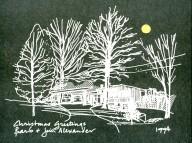 Jim Alexander Christmas Card 1994