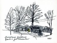 Jim Alexander Christmas Card 1991