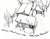 Jim Alexander Christmas Card 1981