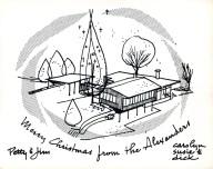 Jim Alexander Christmas Card 1965