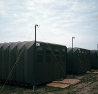 Military Shelter Type 3: Accordion-in-a-Box Concept