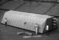 Military Shelter Type 1: Bow-tie Concept