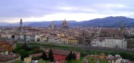 City View of Florence, Italy