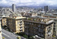 City View of Genoa, Italy