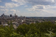Cincinnati Downtown from Fairview Park