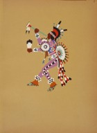 [Kiowa Indian Art: watercolor paintings in color by the Indians of Oklahoma, Humming Bird Dance]