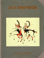 [Sioux Warriors on Horseback, Sioux Indian painting]