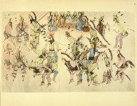 [Sioux Indian painting, Dance in Honor of the Warrior He Dog]