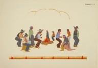 [Les peintres indiens d'Amérique, American Indian painters, Stomp Dance]