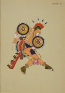 [Les peintres indiens d'Amérique, American Indian painters, Modern Dancer]