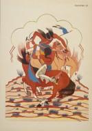 [Les peintres indiens d'Amérique, American Indian painters, Sioux Battle]