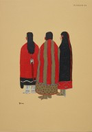 [Les peintres indiens d'Amérique, American Indian painters, Three Friends]