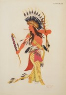 [Les peintres indiens d'Amérique, American Indian painters, Dick Dancing]