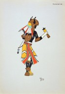 [Les peintres indiens d'Amérique, American Indian painters, Buffalo Dancer]