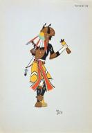[Les peintres indiens d'Amérique, American Indian painters, Buffalo Dancer]