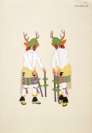 [Les peintres indiens d'Amérique, American Indian painters, Two Deer Dancers]