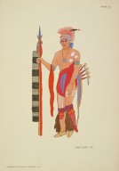 [North American Indian Costumes: (1564-1950), SAUK CHIEF 1780]