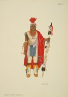 [North American Indian Costumes: (1564-1950), IOWA 1840]