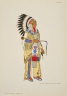[North American Indian Costumes: (1564-1950), OGLALA SIOUX CHIEF (Formal) 1885]