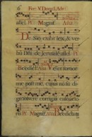 The Spanish Antiphoner. Page 6