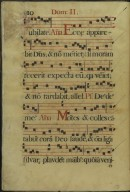The Spanish Antiphoner. Page 10