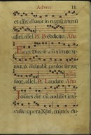 The Spanish Antiphoner. Page 11