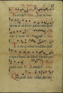 The Spanish Antiphoner. Page 15