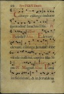 The Spanish Antiphoner. Page 22