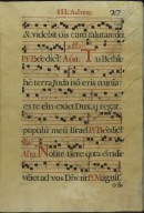 The Spanish Antiphoner. Page 27