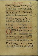 The Spanish Antiphoner. Page 31
