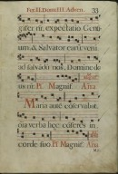 The Spanish Antiphoner. Page 33