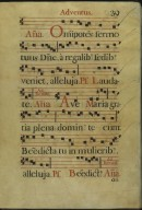 The Spanish Antiphoner. Page 39