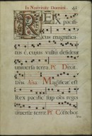 The Spanish Antiphoner. Page 41
