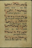 The Spanish Antiphoner. Page 47