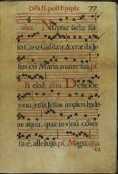 The Spanish Antiphoner. [Page 87]