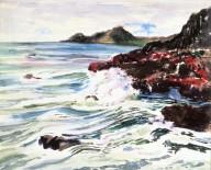 Sea with Crashing Waves