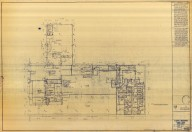 Eighth Mezzanine Floor Plan West Half