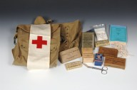 Army Medic's Bags and Contents