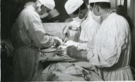 Doctors and Sergeant in Surgery
