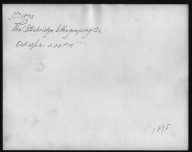 Rapid Transit Photographs -- Box 12, Folder 19 (October 15, 1926 - November 8, 1926) -- print, 1926-10-15, 3:35 P.M. (back of photograph)