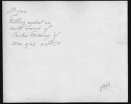 Rapid Transit Photographs -- Box 12, Folder 26 (December 2, 1926) -- print, 1926-12-02, 2:38 P.M. (back of photograph)