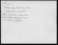 Rapid Transit Photographs -- Box 12, Folder 27 (December 2, 1926 - December 3, 1926) -- print, 1926-12-03, 10:50 A.M. (back of photograph)