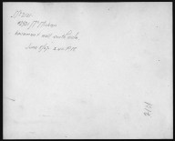 Rapid Transit Photographs -- Box 12, Folder 38 (June 8, 1927 - June 15, 1927) -- print, 1927-06-08, 2:40 P.M. (back of photograph)