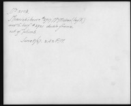 Rapid Transit Photographs -- Box 12, Folder 38 (June 8, 1927 - June 15, 1927) -- print, 1927-06-08, 2:52 P.M. (back of photograph)
