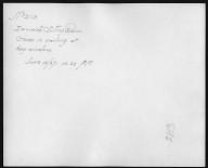 Rapid Transit Photographs -- Box 12, Folder 38 (June 8, 1927 - June 15, 1927) -- print, 1927-06-13, 10:20 A.M. (back of photograph)